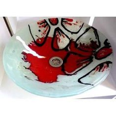 artesanias en vitrofusion PINTEREST - Buscar con Google Fused Glass Art, Stained Glass, Craft Show Displays, My Glass, Blown Glass, Glass Flowers, Ceramic Design, Plates And Bowls, Serving Bowls