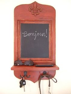 French Shabby Chic Message Centers