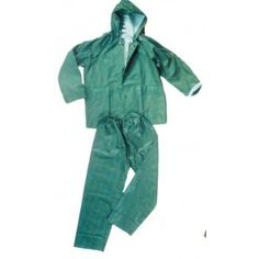 Ignesti Giacca + Pantalone impermeabile verde