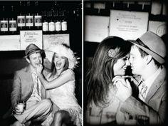 Ga lekker met een thema op de foto. Neem deze vintage verlovingsfoto's, daar kijk je lang met plezier op terug!