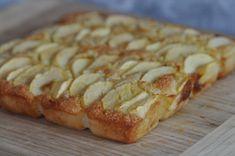 Gâteau aux pommes et à la crème d'amandes