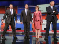 GOP Fox News debate: Presidential hopefuls fail to understand how to answer a question in just two words - People - News - The Independent