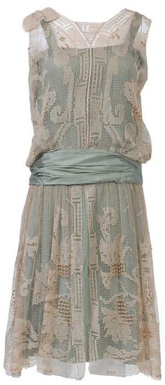 Dress, 1920s, via 1stdibs.com