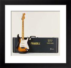 Brownie - A 1956 Fender Stratocaster Guitar Art Print by Christie's Images Easyart.com