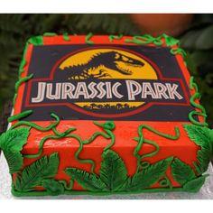 Jurassic park cake www.sugar-coated.com.au dinosaur cake