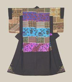 Dounuki Kimono, Late Meiji era (1900-1911). The Kimono Gallery