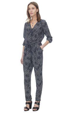 c77ad0b87e3d  450 Rebecca Taylor Box Step Jumpsuit Business Outfits