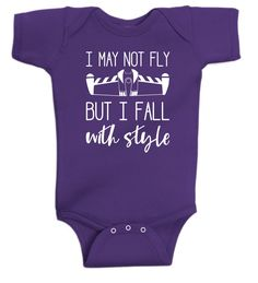 """Toy Story onesie or shirt - Buzz Lightyear - Disney - """"I may not fly but I fall with style"""" by DoodlesAndDots2 on Etsy"""