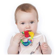 Baby Teether Toys - Nuby Spin N Teethe Teether Colors May Vary >>> Want additional info? Click on the image.