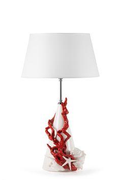 Lampada Corallo - Red Coral Lamp perfect sea style