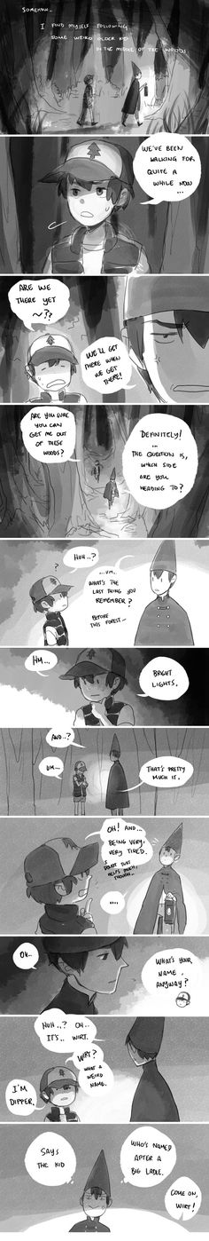 Over the Garden Wall Au - Garden Falls Chapter 2 宇宙艦隊RAMBO