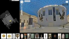 Google engineers have come a step closer to realising the Enlightenment fantasy of a universally accessible collection of world history and culture, the director of the British Museum said on Thursday. Speaking at an event to launch a partnership Interactive Museum, Europe News, Timeline Design, Virtual Museum, News Sites, Social Science, British Museum, Virtual Tour, Amazing Gardens