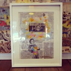 #jodiequakenbach #superimposed #collageart $110 #art #localartist #collage #paper #papercut #cutout #camera #retro # dimension #geometric #triangles #neon #paint #artist #creativity #image #newspaper #letters #photography #takeaphoto #snap #shot Newspaper Letters, Headboard Ideas, Local Artists, How To Take Photos, Triangles, Paper Cutting, Collage Art, Creativity, Neon