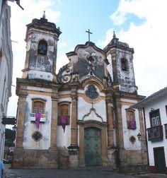 """""""Matriz de Nossa Senhora do Pilar"""". Ouro Preto, Minas Gerais. Brasil."""