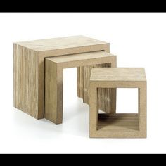 Vitra Frank Gehry Low Table Set