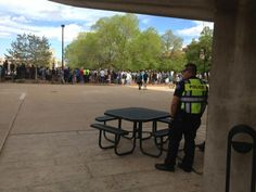 How many police officers are watching? #cu420 (Photo credit: Robert R. Denton)