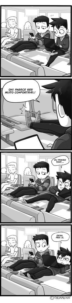 Satirinhas - Quadrinhos, tirinhas, curiosidades e muito mais! - Part 44