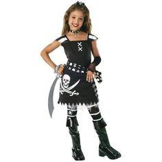 Scarlet Korsan Kız Çocuk Kostüm 3-4 Yaş
