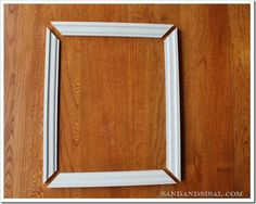 how to: Picture Frame Wainscoting