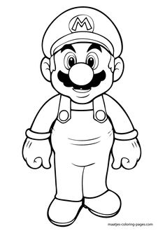 Is Your Kid Fascinated By His Favorite Super Hero Mario Incredible Jumps Here Are 10 Free Printable Coloring Pages To Color Their