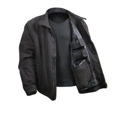Rothco 3 Season Concealed Carry Jacket with Built In Pistol Pouch