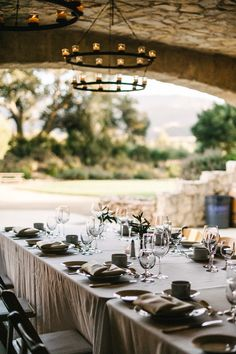 Santa Barbara Courthouse Wedding and Dinner Reception in the Cuvee Caves of Sunstone Winery.