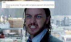 X Men + text post meme
