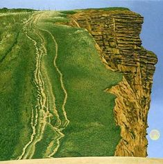 East Cliff, West Bay (2004) by David Inshaw