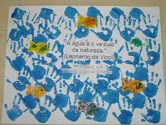mensagem dia da agua infantil - Atividades para Educação Infantil