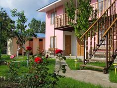 Okunevka Inn Okunevka Featuring free WiFi, a barbecue and a children's playground, Okunevka Inn offers pet-friendly accommodation in Olenevka. Guests can enjoy the on-site bar. Free private parking is available on site.  You will find a kettle in the room.