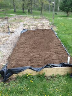 Compost in place.