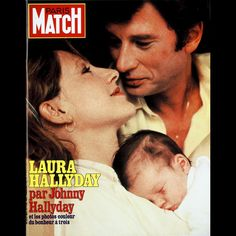 Johnny Halliday, Laura Smet, Paris Match, Vintage Magazines, France, Belle Photo, French Vintage, Couple Photos, Movie Posters
