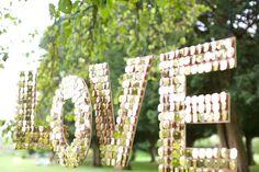 Shimmery Love Letters http://www.etsy.com/listing/108086171/to-buy-shimmery-love-letters-wedding