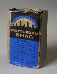 pakje tabak, Van Rossem, productnaam Rotterdam Shag