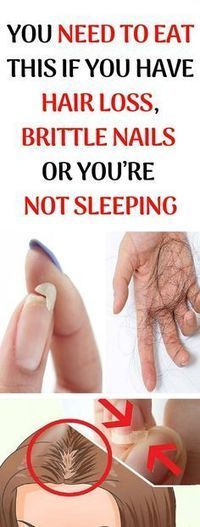 YOU NEED TO EAT THIS IF YOU HAVE HAIR LOSS, BRITTLE NAILS OR YOU'RE NOT SLEEPING!