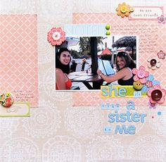 Ideas for Scrapbooking A Treasured Friendship | Christy Strickler | GetItScrapped