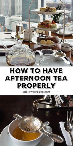 Tea Etiquette, Afternoon Tea Recipes, Tea Sandwiches, Tea Service, Herbal Tea, High Tea, Recipe Using, Matcha, Tea Set