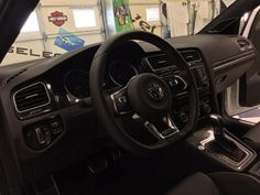 We sure love our VW fans here at TheSpokaneShop.com, most of our guys drive VW's! Love them and love talking about them! Window Tinting looks amazing on this white GTI!