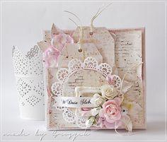 Made by Groszek: Pamiątka ślubu w pudełku