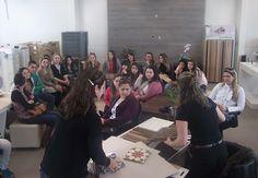 Decori São José recebe a visita de estudantes de Design de Interiores