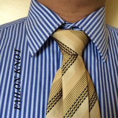 Failon Knot created by Noel Junio. It is exactly tied as the Half-Windsor Knot-utilizes the skinny end and the final result is the same as the Murrell and the Duke Knots.