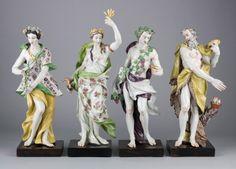 Ginori Manufactory, Doccia  The Four Seasons, 1745