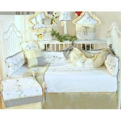 Brandee Danielle Be Be Bugs 4 Piece Crib Bedding Set