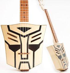 Autobot Transformer ukulele
