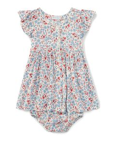Floral Dress & Bloomer - Baby Girl Dresses - RalphLauren.com