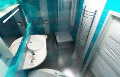 Дизайн интерьера совмещенной ванной из плитки FAP For Love