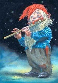 Musical Gnome ~ Kjel E. Midthun