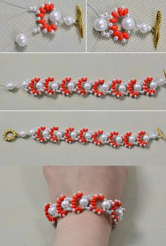 Wanna make this beaded bracelet, LC.Pandahall.com will tell you how to make it.