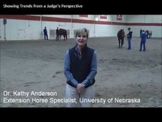 Horse Show Trends from a Judge's Perspective. Webinar Preview - to view the full webinar, visit: http://www.myhorseuniversity.com/resources/webcasts/showingtrends. #horses #horseshow