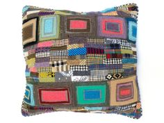 Pillow Cover - Cushion Cover :The Hundertwasser Cushion from Clever Elsie. £57.00, via Etsy.